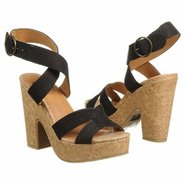 Slouch Sandals (Black) - Women's Sandals - 7.5 M