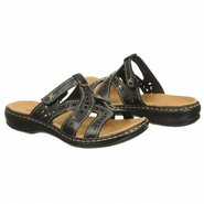 Leisa Truffle Sandals (Black Leather) - Women's Sa