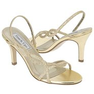 Randi Shoes (Gold Glitter) - Women's Wedding Shoes