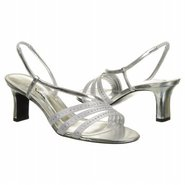 Gisepe Shoes (Silver Sat) - Women's Shoes - 9.5 M