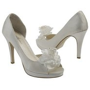 Princess Shoes (Ivory Satin) - Women's Wedding Sho