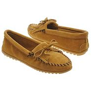 Kilty Suede Moc Shoes (Tan) - Women's Shoes - 8.5