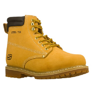 Foreman Steel Toe Boots (Wheat) - Men's Boots - 11