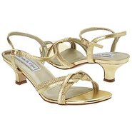 Melanie Shoes (Gold Metallic) - Women's Wedding Sh