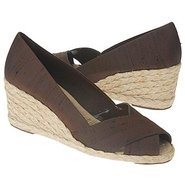 Cecilia Sandals (Dark Brown Shantung) - Women&#39;s Sa