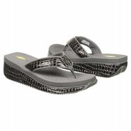 Mini Croco Sandals (Pewter) - Women's Sandals - 8.