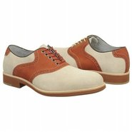 Ellington Saddle Shoes (White/Red) - Men's Shoes -
