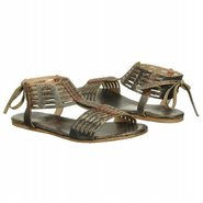 Candice Sandals (Black Lux Leather) - Women&#39;s Sand