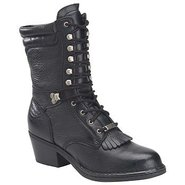 8  Opanka Packer Boots (Black) - Women's Boots - 7