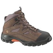 Hudson Steel Toe Hiker Boots (Dark Brown/Black) -
