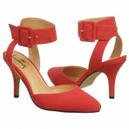 Lawrence Shoes (Bright Red Suede) - Women's Shoes