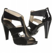 Berkley T-Strap Sandals (Black Velvet) - Women's S