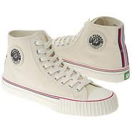 Center Hi Shoes (Off White Canvas) - Men's Shoes -