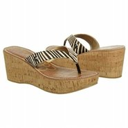 Romy Sandals (Black/Ivory Zebra) - Women's Sandals