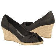 Rhonda Shoes (Black Dma Silk Fabri) - Women's Shoe