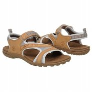 Pinkham Notch Backstrp Sandals (Tan/Light Blue) -