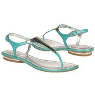 Bali Sandals (Turquoise Leather) - Women's Sandals