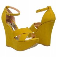 Not Enough Shoes (Yellow Suede) - Women's Shoes -