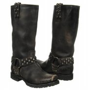 Heath Disc Harness Boots (Black Stone Wash) - Wome