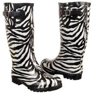 Puddles Boots (Black/White Zebra) - Women's Boots