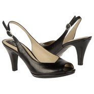 Ideal Shoes (Black Leather) - Women's Shoes - 6.5