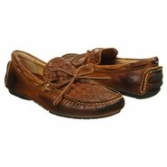 West Woven Driver Shoes (Cognac) - Men's Shoes - 1