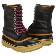 1964 Premium Canvas Boots (Black) - Women's Boots