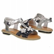 Giglio G Tod Sandals (Silver/Blue) - Kids' Sandals