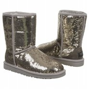 Boots Classic Short Sparkles (Silver) - Women&#39;s UG