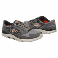 Go Run All Season Shoes (Charcoal/Orange) - Men's