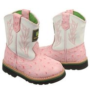 Wellington Toddler Boots (Pink Ostrich) - Kids' Bo