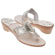 Navajo Mid Wedge Sandals (Platinum) - Women's Sand