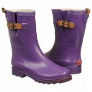 Top Solid Mid Boots (Purple) - Women's Boots - 7.0