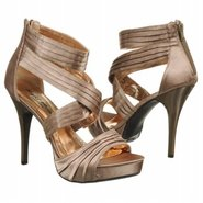 Carrie Shoes (Bronze Satin) - Women's Shoes - 7.5