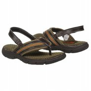 OshKosh B&#39;gosh Dale Tod/Pre Sandals (Brown/Green) 