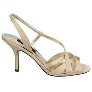 Vega Shoes (Royal Gold Satin) - Women's Shoes - 7.