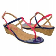 Edgewood Sandals (Flamingo/Navy Patent) - Women&#39;s 
