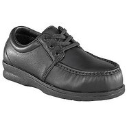 Pucker Moc Casual Oxford Shoes (Black) - Men&#39;s Sho