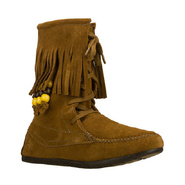 Love Letters-Half Moon Boots (Chestnut) - Women's