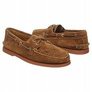 A/O 2-Eye Suede Shoes (Tan Suede) - Men's Shoes -