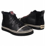 Sentry Chukka Leather Shoes (Black/Oyster Grey) -