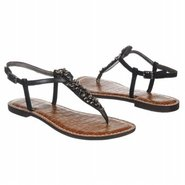 Gwenyth Sandals (Black Leather) - Women&#39;s Sandals 