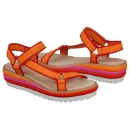 Barnacle Sandals (Orange Nylon) - Women&#39;s Sandals 