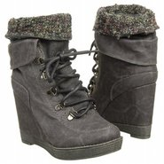 Foxy Boots (Black Distressed) - Women&#39;s Boots - 8.