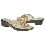 Carly Sandals (Bright Gold Leather) - Women's Sand
