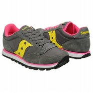 Jazz Low Pro Shoes (Grey/Yellow) - Women's Shoes -