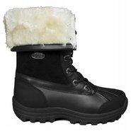 Tambora Boots (Black/Cream) - Women's Boots - 6.0