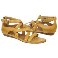 Hillary Sandals (Hot Mustard Leather) - Women's Sa