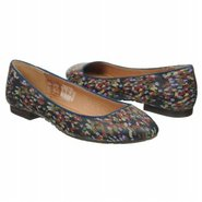 Saxon Flat Shoes (Blue Multi Leather) - Women's Sh