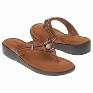 Silverthorne Thong Sandals (Nutmeg) - Women's Sand